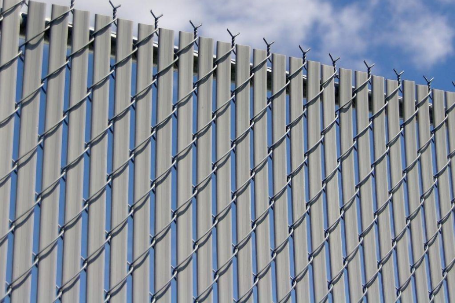 chain link fence installed on your property
